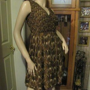 Talbots Petite Brown Dress size 2P (4/6)